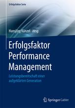 Erfolgsfaktor Performance Management